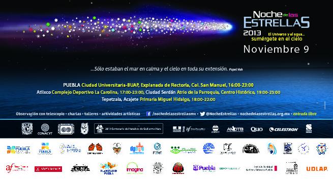 CARTEL NOCHE DE LAS ESTRELLAS 2013 OK